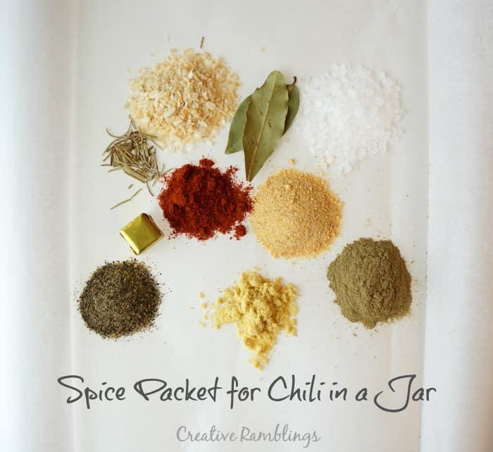 Spice packet for chili gift from Pick 'n Save