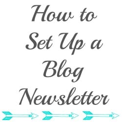 Free and Easy Newsletter for your Blog