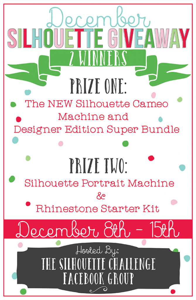 Silhouette Giveaway #silhouetechallenge