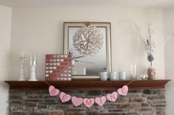 Valentine mantle