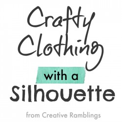 crafty clothing with a silhouette