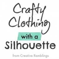 Crafty Silhouette Clothing Projects
