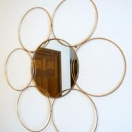 DIY Metal Ring Mirror