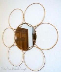 DIY-metallic-metal-ring-mirror
