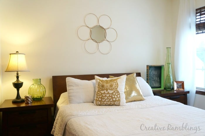 DIY-metallic-metal-ring-mirror-room