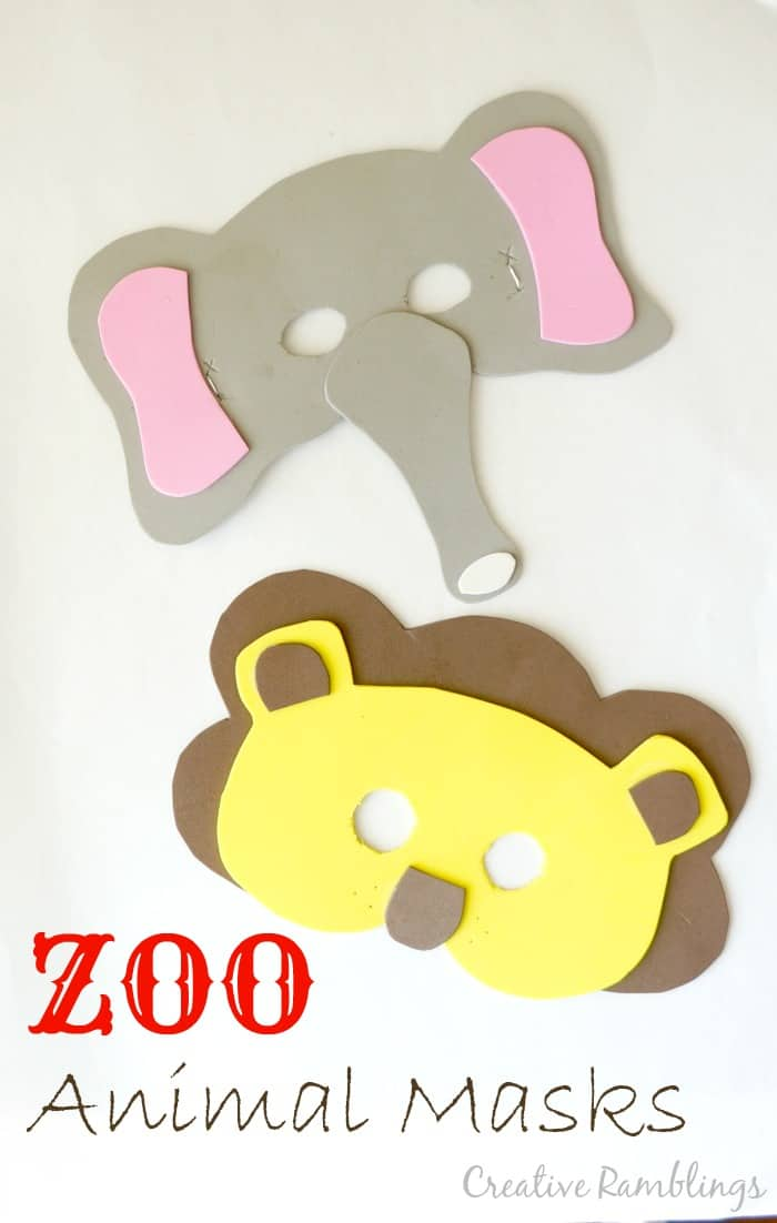 zoo-animal-mask-elephant-lion