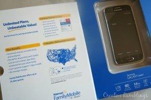 Walmart Family Mobile Samsung Galazxy Avant #MarchIntoSavings #Ad