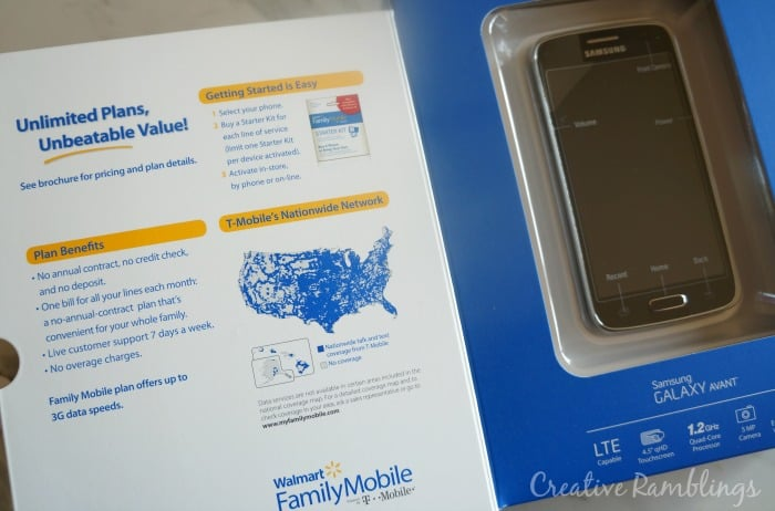 Walmart Family Mobile Samsung Galazxy Avant #MarchIntoSavings #Ad