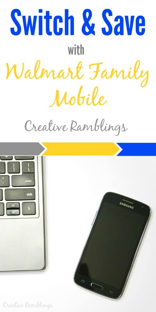 Switch and Save with Walmart Family Mobile #MarchIntoSavings #Ad