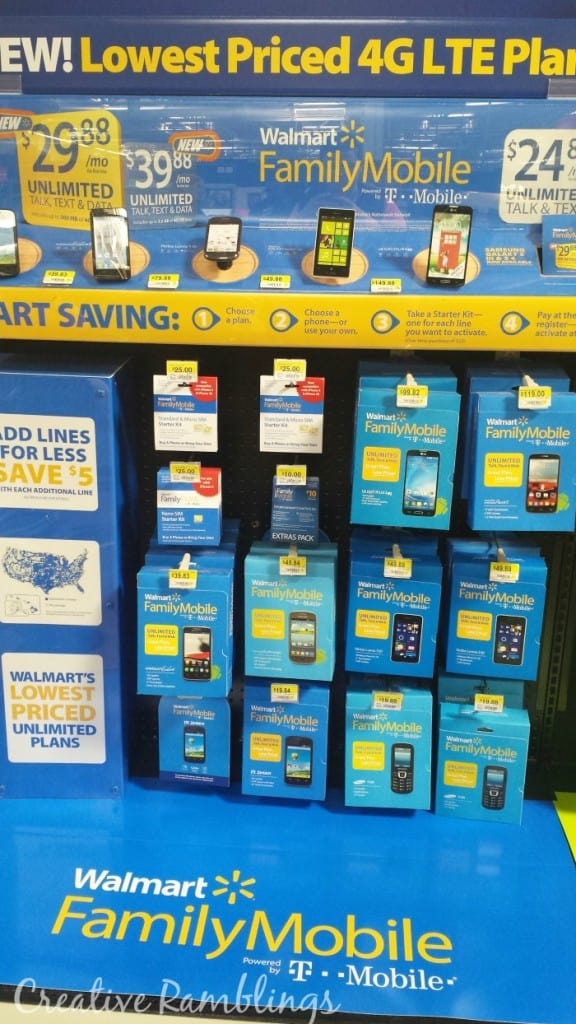 Walmart Family mobile, switch and save. #marchintosavings #ad