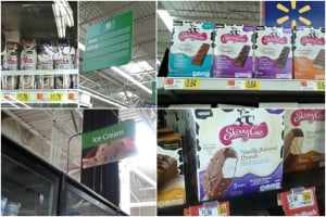 Skinny cow at Walmart #SkinnyCowMoments #ad