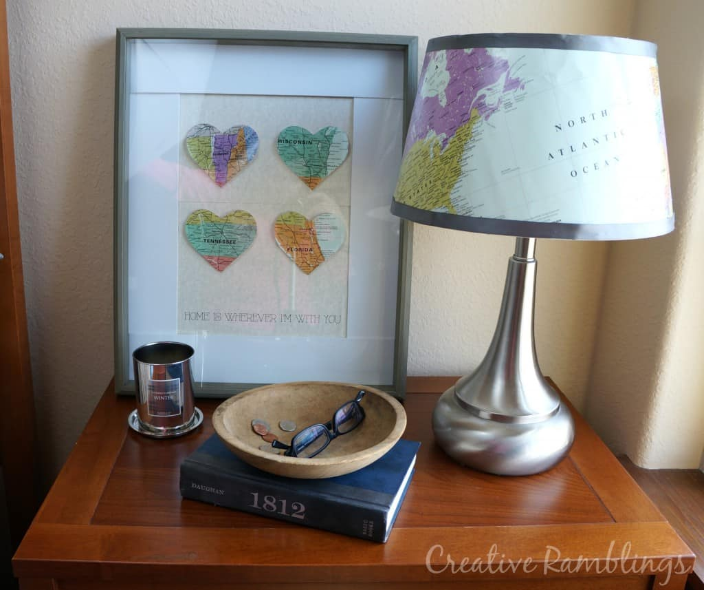 Promote natural sleep with a nightstand makeover and GE Align lightbulb #SleepAligned #ad