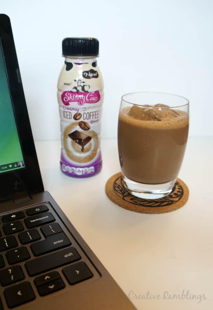 Skinny Cow Creamy Iced Coffee #SkinnyCowMoments #ad