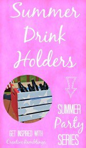 Be ready for a summer party with one of these creative DIY beverage holders.