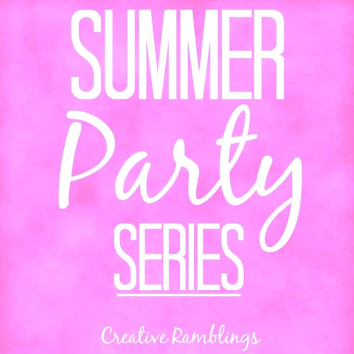 Summer party series. Inspiration for your best summer party.