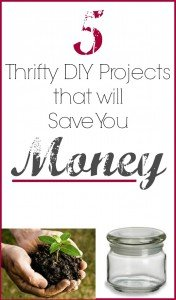 5 thrifty DIY projects that will save you money