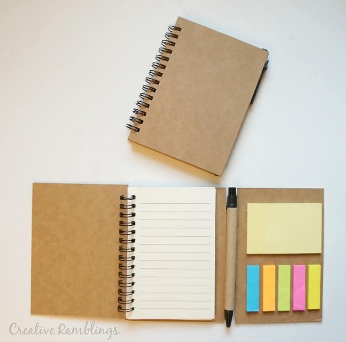 Pick You Plum blank notebooks