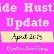 Side Hustle Update April 2015