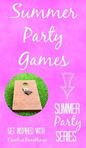 10 summer party games that guests of all ages can enjoy.