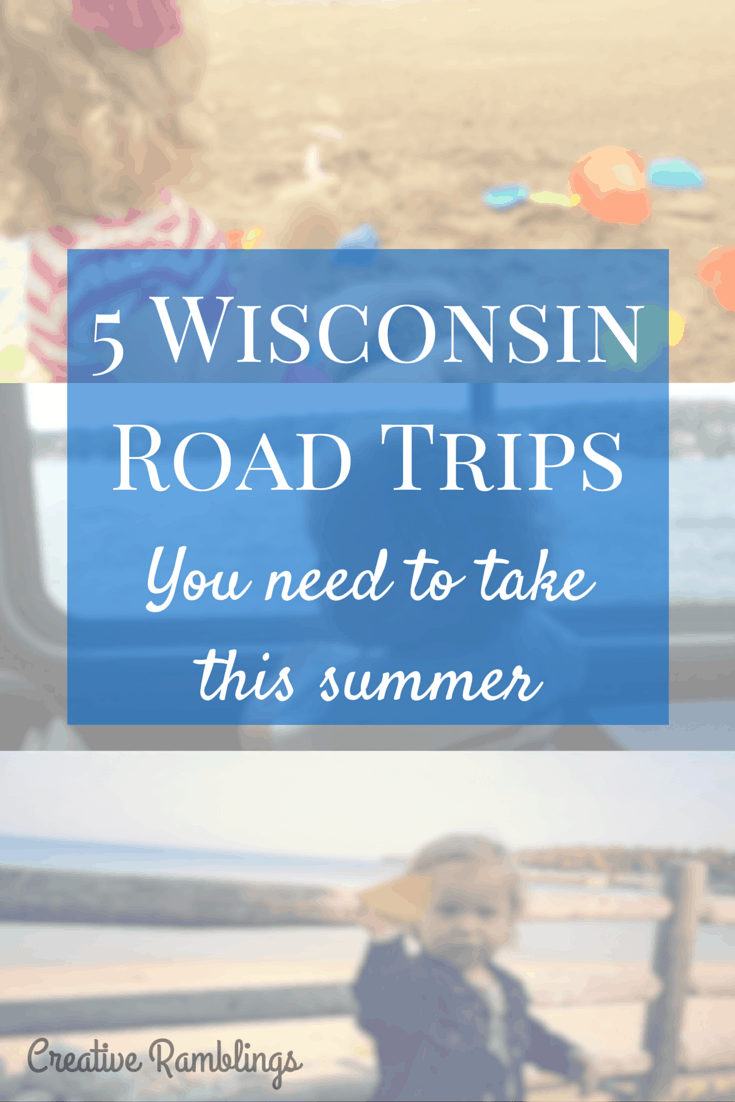 5 Wisconsin road trips to take this summer.  Beautiful scenic and fun destinations the whole family will enjoy.  #FuelTheLove [ad]