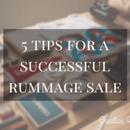 5 Tips for a Successful Rummage Sale