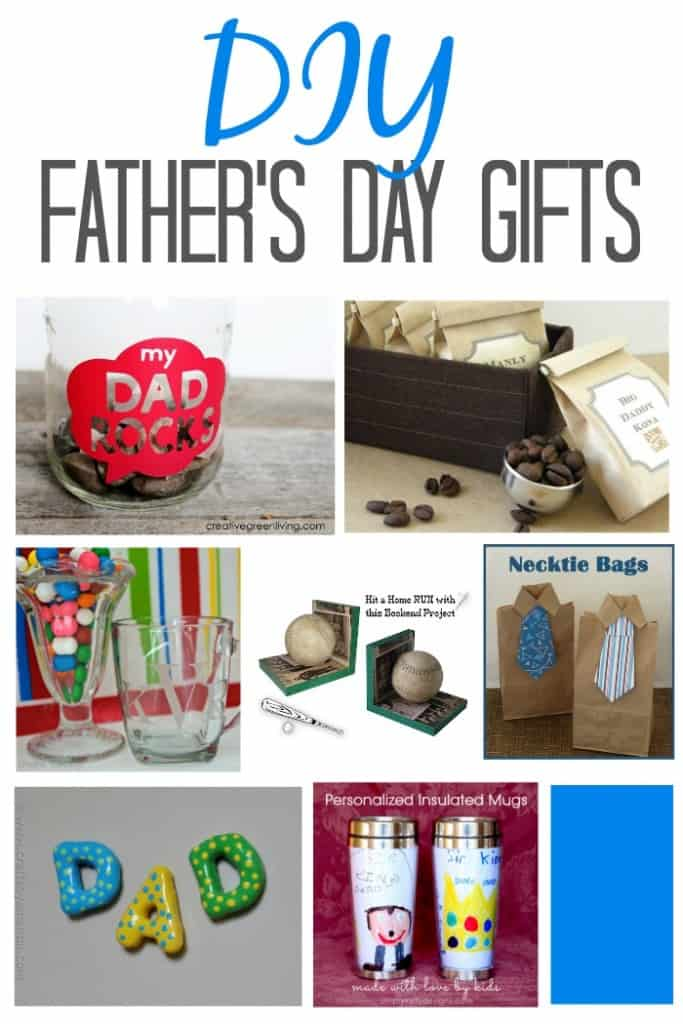 Easy to make DIY Father's Day gifts
