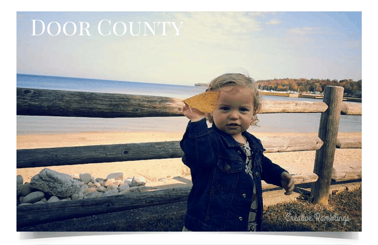 5 Wisconsin road trips to take with your family this summer.  Door County!  #FuelTheLove [ad]