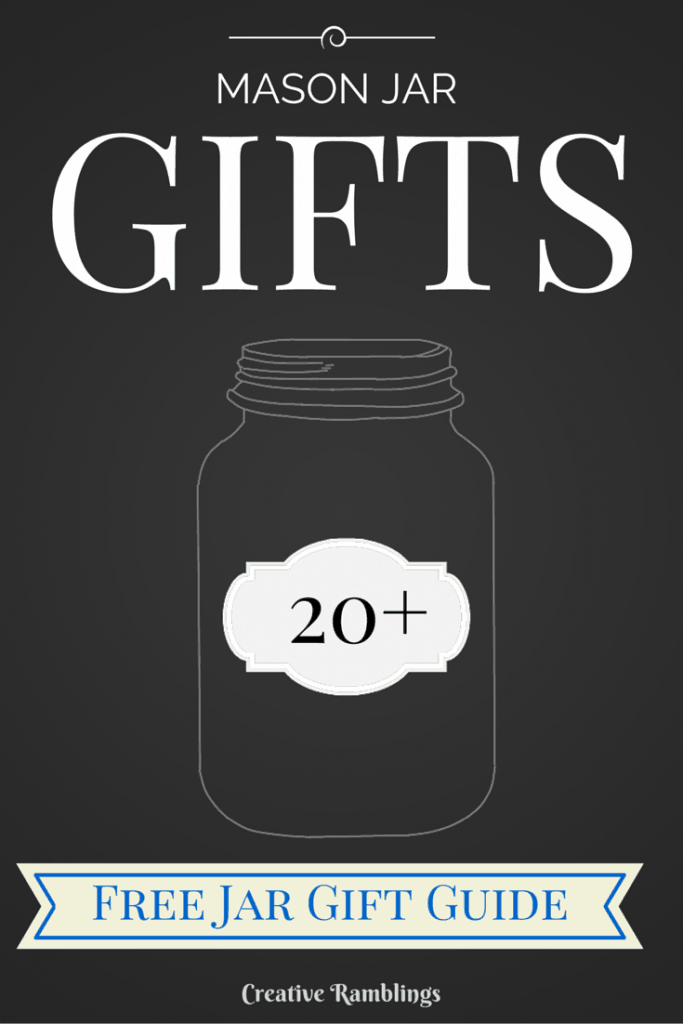 20 Mason Jar Gift Ideas. Plus, a free download to help you create the perfect mason jar gift every time.