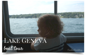 5 Wisconsin road trips to take with your family this summer. Lake Geneva. #FuelTheLove