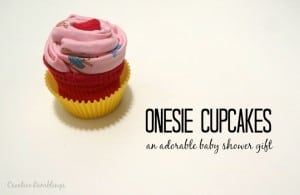 Onesie cupcake easy video tutorial