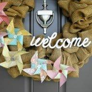 Summer Wreath and Dose of DIY Blog Hop