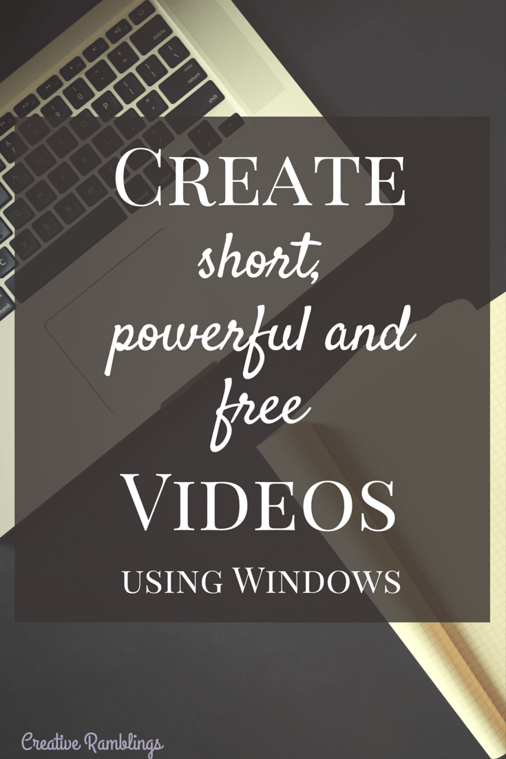 Learn the easy way to create short, powerful and free videos using Windows and YouTube. Create sharable content that will engage your audience and drive traffic to your site.