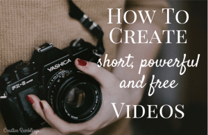 Create short and powerful videos for Free using Windows software