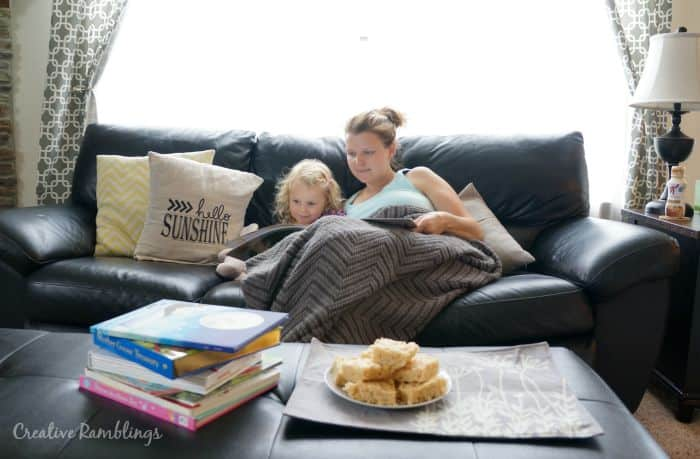 Reading with kids is a great way to encourage a love for books. Get a free book from Kellogg's for a limted time. #Back2SchoolReady [ad]
