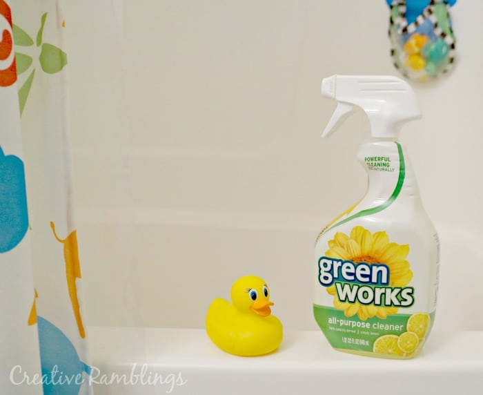 Green Works all purpose cleaner #NaturallyClean [ad]