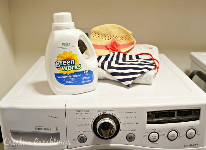 Green works laundry #NaturallyClean [ad]