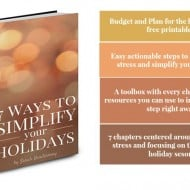 7 Ways to Simplify Your Holidays – Preview