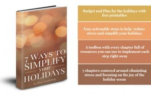 7 Ways to Simplify Your Holidays / Creative Ramblings