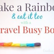 Travel Busy Box for a Screen Free Road Trip