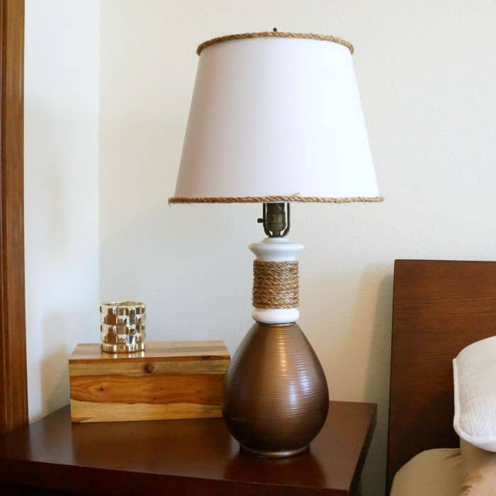 Bronze lamp makeover