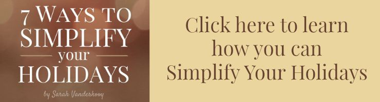 simplify your holidays post link