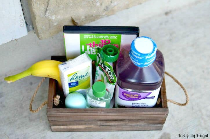 How to Create a Feel Better Flu Gift Box