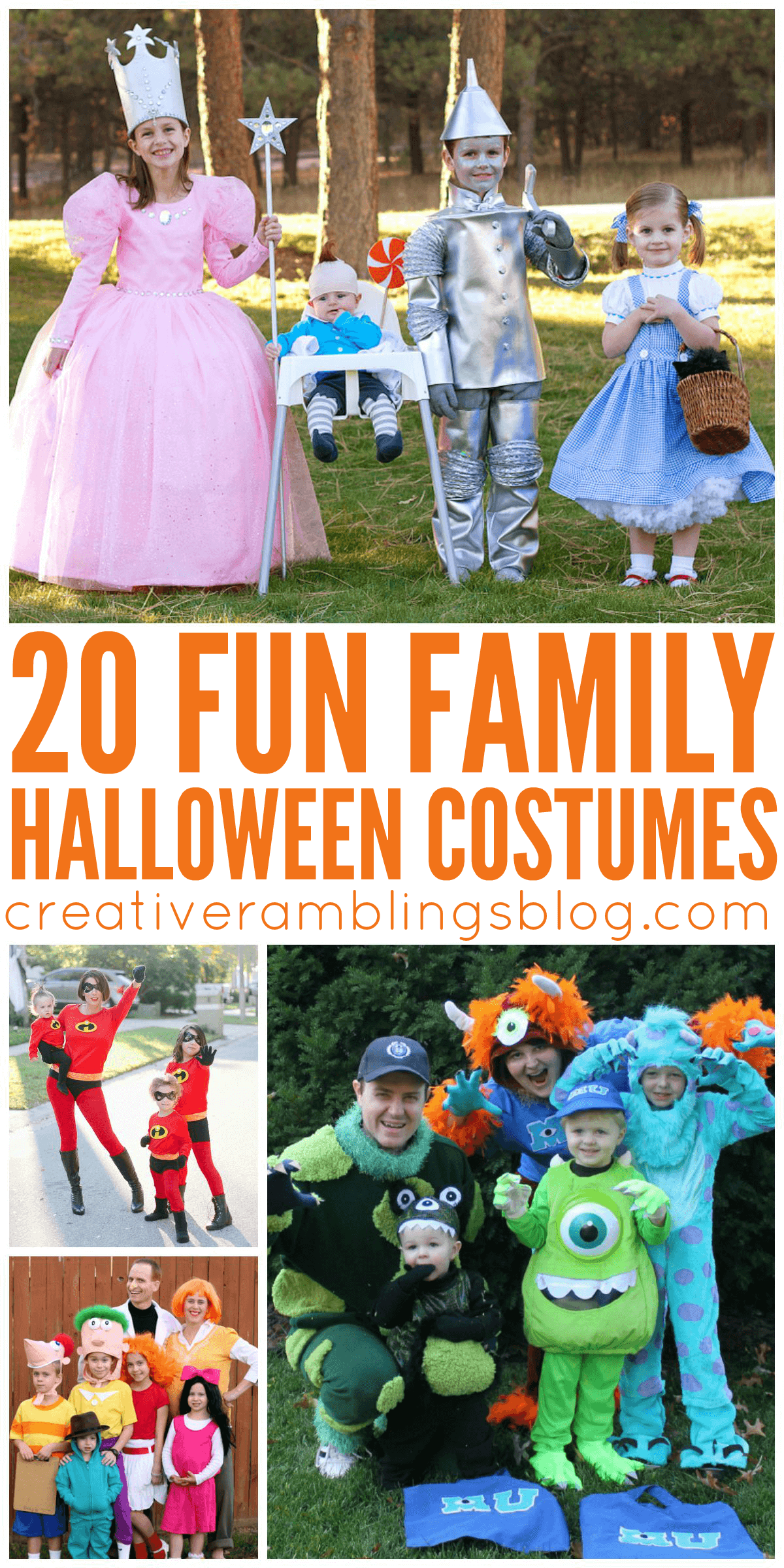 20 adorable and clever family or group Halloween costumes  sc 1 st  Creative Ramblings & 20 Fun Family Halloween Costumes - Creative Ramblings
