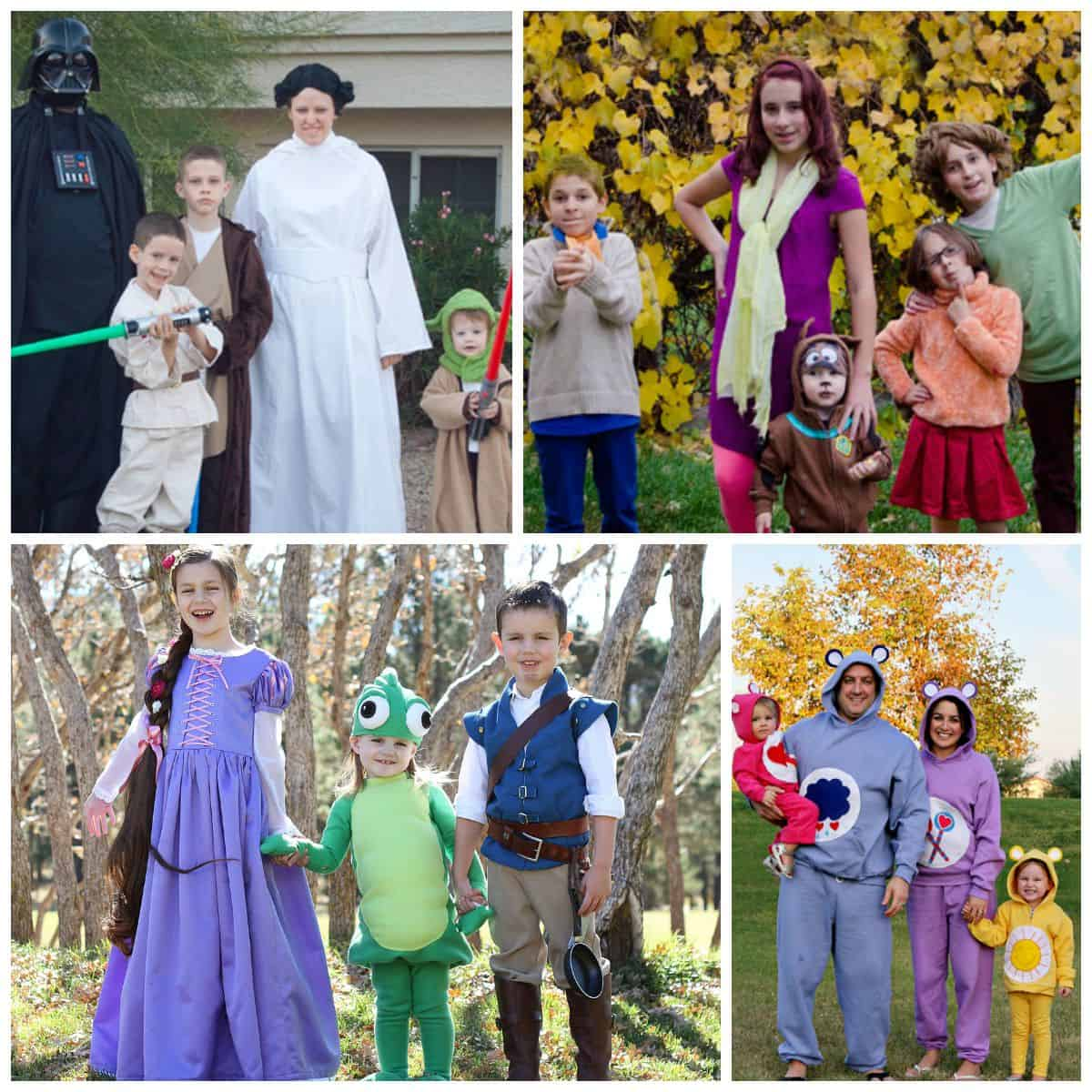 20 Fun family or group Halloween costumes