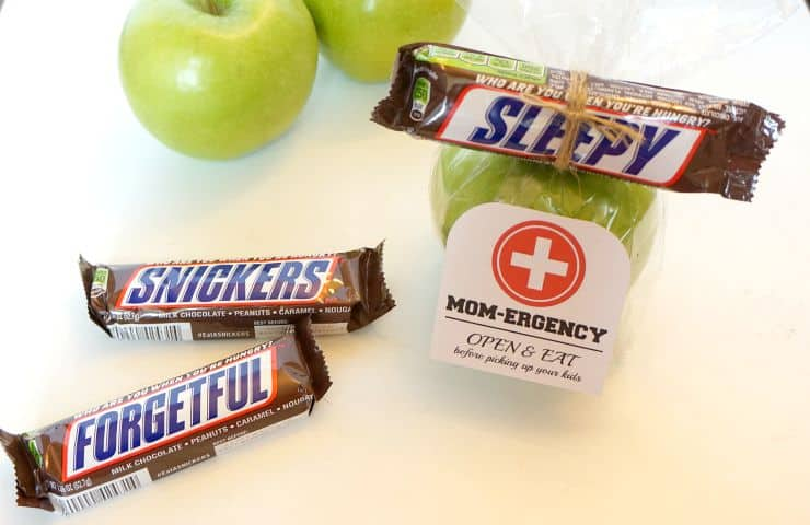 The perfect after school snack for Mom #EataSNICKERS #ad