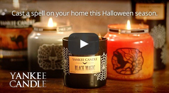 yankee candle halloween video