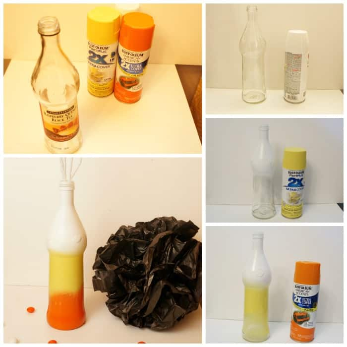 DIY-candy-corn-painted-bottle