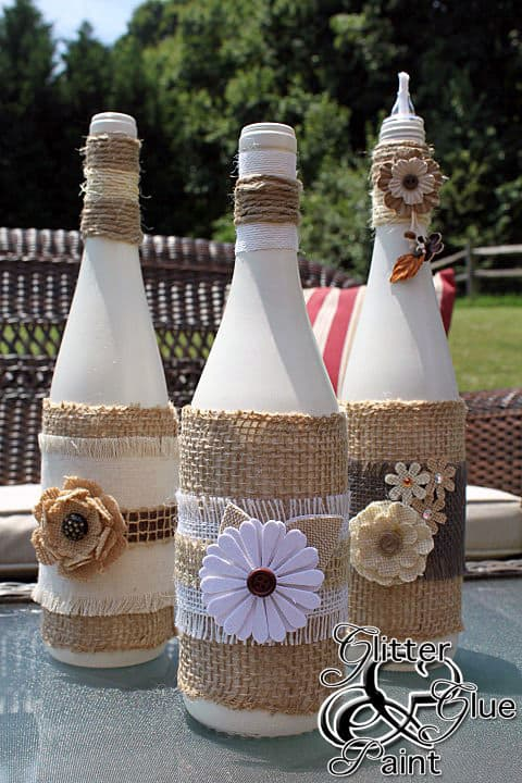 Creative ways to reuse wine bottles creative ramblings - Creative ideas to reuse wine bottles ...