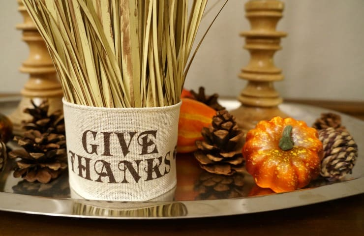 How to prep for a stress free thanksgiving #HappyThanksGathering #ad