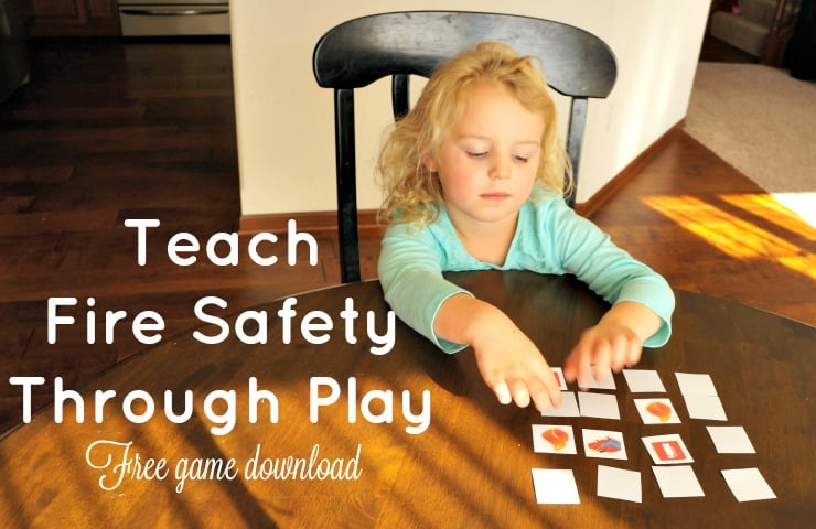 Fire safety through play #ChangeYourClock #ad